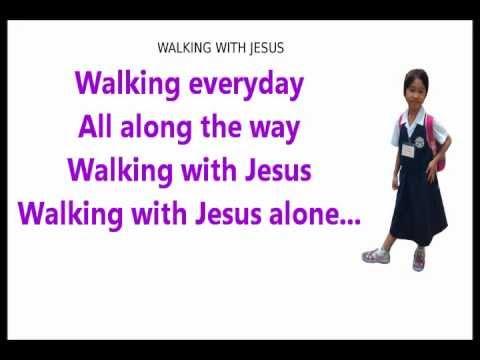 Martha Walking with Jesus