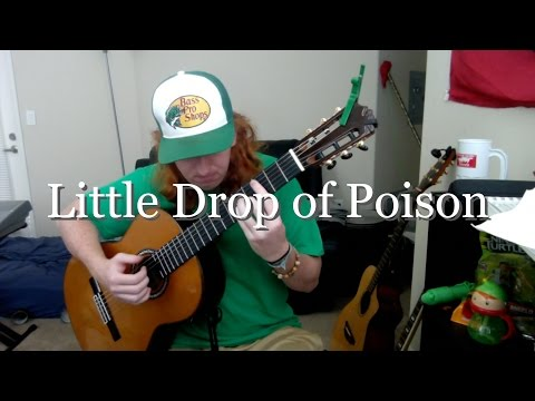 Little Drop of Poison - Tom Waits (Fingerstyle Guitar Cover)