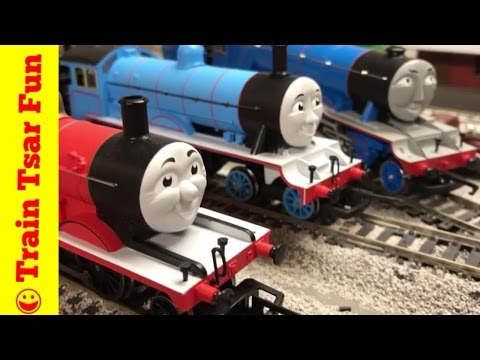 HORNBY LAMP IRONS! Controversy? James, Edward, Gordon Thomas and Friends Trains
