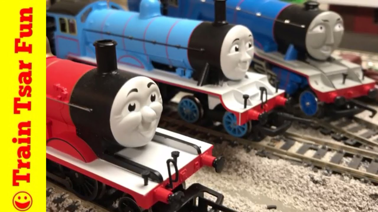 HORNBY LAMP IRONS! Controversy? James, Edward, Gordon Thomas And Friends  Trains   YouTube