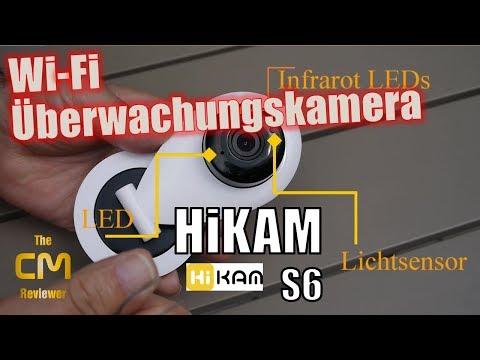 HiKam S6 Test: Deutsche Wi-Fi Überwachungskamera für Dummies - Hands-on