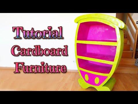 diy crafts how to make a cardboard cartoon furniture handmade youtube isa youtube cardboard furniture diy