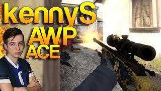 CS:GO - kennyS INSANE Awp Ace!