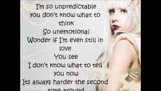 Lady Gaga - Second Time Around Lyrics