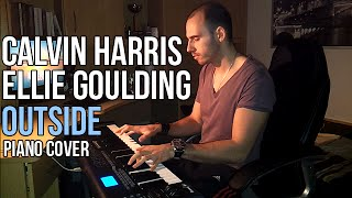 Calvin Harris feat. Ellie Goulding - Outside (Piano Cover by Marijan)