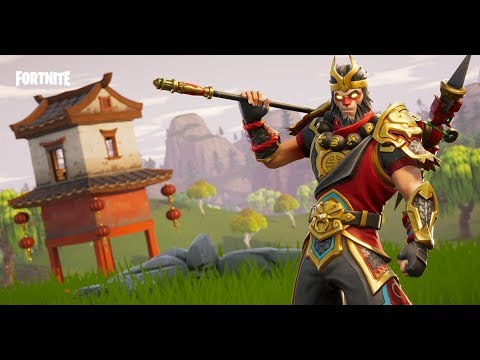 NEW WUKONG MONKEY KING SKIN! - Fortnite NEW SKINS UPDATE
