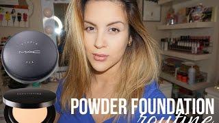 How To | Powder Foundation Routine