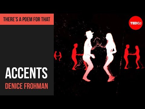 """Video image: """"Accents"""" by Denice Frohman"""