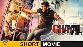 The film opens with flashbacks of ghayal. an angry young man ajay mehra shoots and balwant rai (who had ajay's brother) surrenders himself to upright cop...