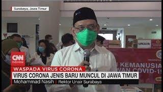 Virus Corona Jenis Baru Muncul di Jawa Timur