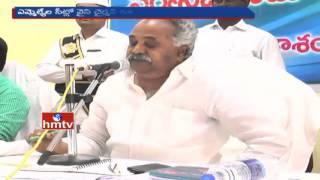 Chairman Vs Vice Chairman | War of Words in ZP Meeting at Prakasam | HMTV