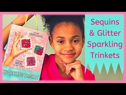 diy-sparkles-&-glitter-sparkling-trinkets-kit-unboxing-|-jewelry-tray-|-tween-life-l-arts-&-crafts