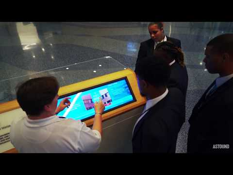 Interactive Digital Content for Camden Innovation Center   AMERICAN WATER   ASTOUND Group