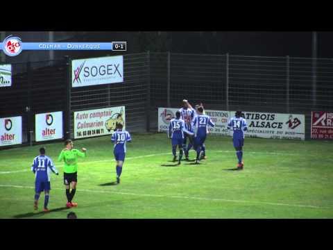 National : SR Colmar - USL Dunkerque (0 - 1)