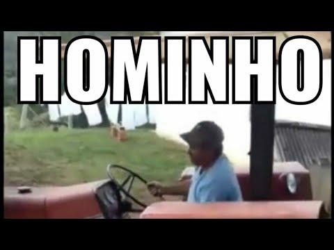 Hominho Barbeiro Trator Completo