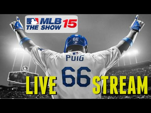 MLB 15 The Show (PS4): Release Night Live Stream - Part 1