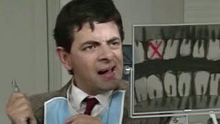 Fixes his own teeth | Mr. Bean Official