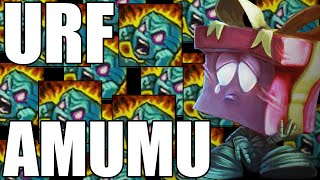 The Best U.R.F. Mode FULL AP Amumu Game Ever - Part 2! AP AMUMU DESTRUCTION