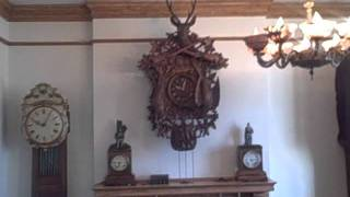 Monster 5 Foot Hunter Cuckoo Clock On Ebay Item# 160697153107