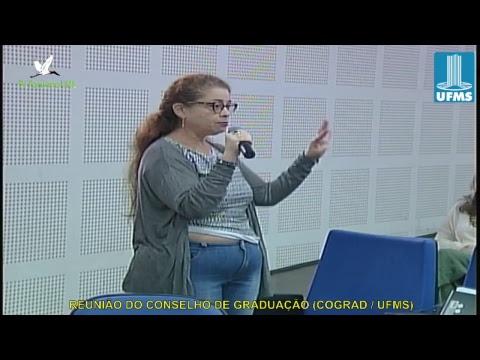 REUNIÃO DO CONSELHO DE GRADUAÇÃO (COGRAD / UFMS) 160818