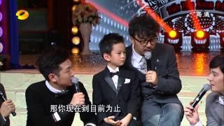 6岁的王帅文Ryan Wang参加湖南卫视的天天向上节目