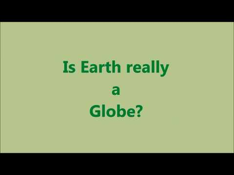 Is Earth Really a Globe? (Seems like Google map is confused)