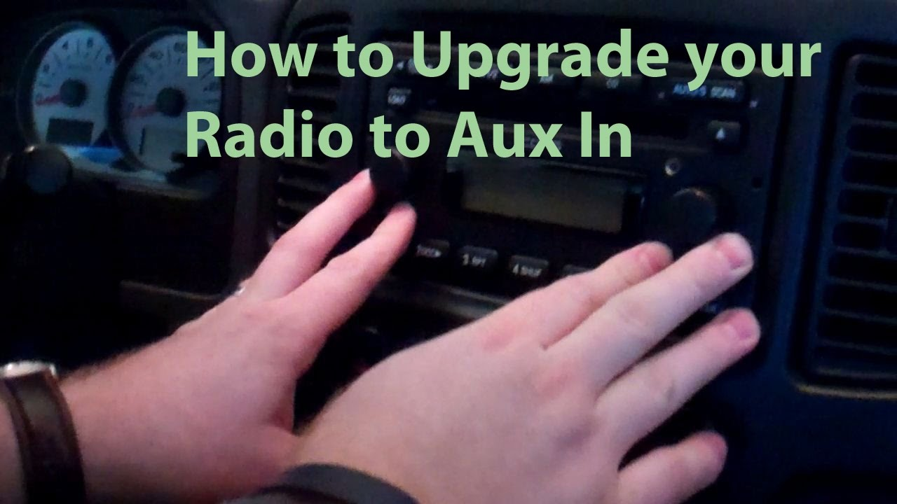 How To Upgrade Radio Ford Escape 05 Aux In