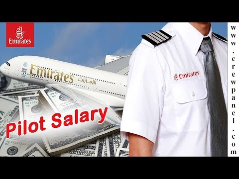 How much does a pilot make in In Emirates Airline | Emirates Airline Pilot Salary
