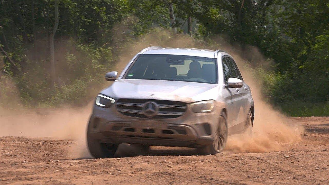 2020 Mercedes Benz Glc 300d 4matic Off Road Youtube