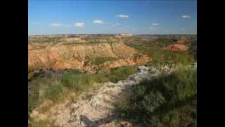 Palo Duro Canyon State Park Texas Day and Night Time Lapse