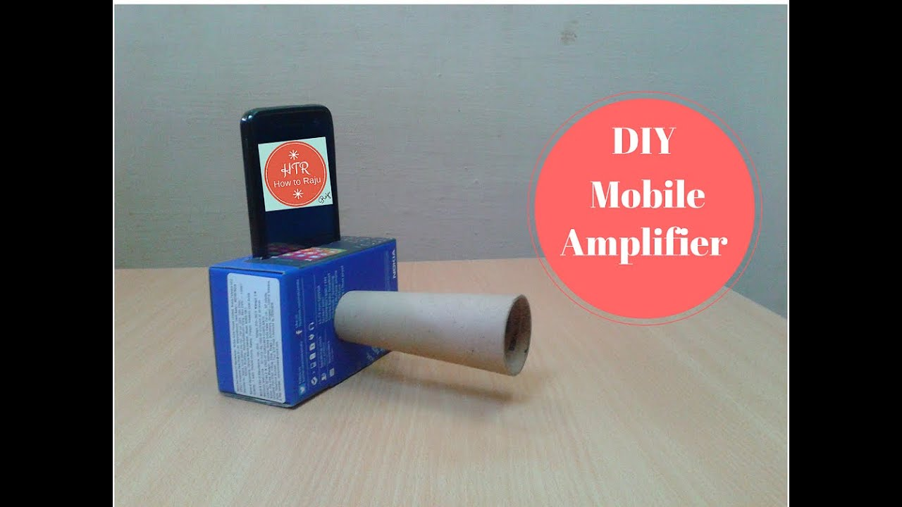 Make a Cheap DIY Smartphone Amplifier/Speaker to Boost the Volume ...