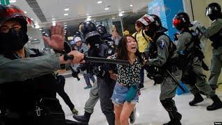 VOA连线 (海彦):反送中抗争接连不断 港警与记者关系持续紧张
