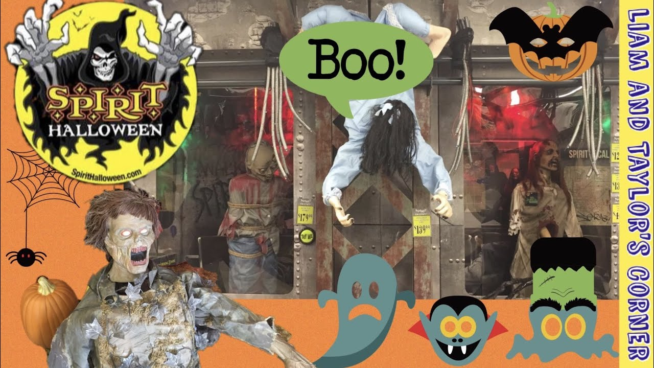 spirit halloween store trip 2015 costume store spooky liam and taylors corner - Spooky Halloween Store