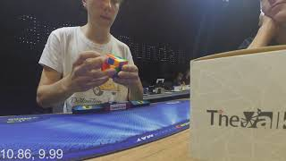 10.77 official 3x3 PB average!