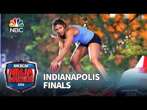 Meagan Martin at the Indianapolis Finals  American Ninja Warrior 2016