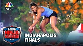 Meagan Martin at the Indianapolis Finals - American Ninja Warrior 2016
