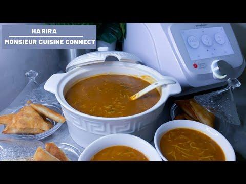La VRAI recette de la HARIRA FACILE au MONSIEUR CUISINE CONNECT (soupe traditionnelle marocaine) MCC