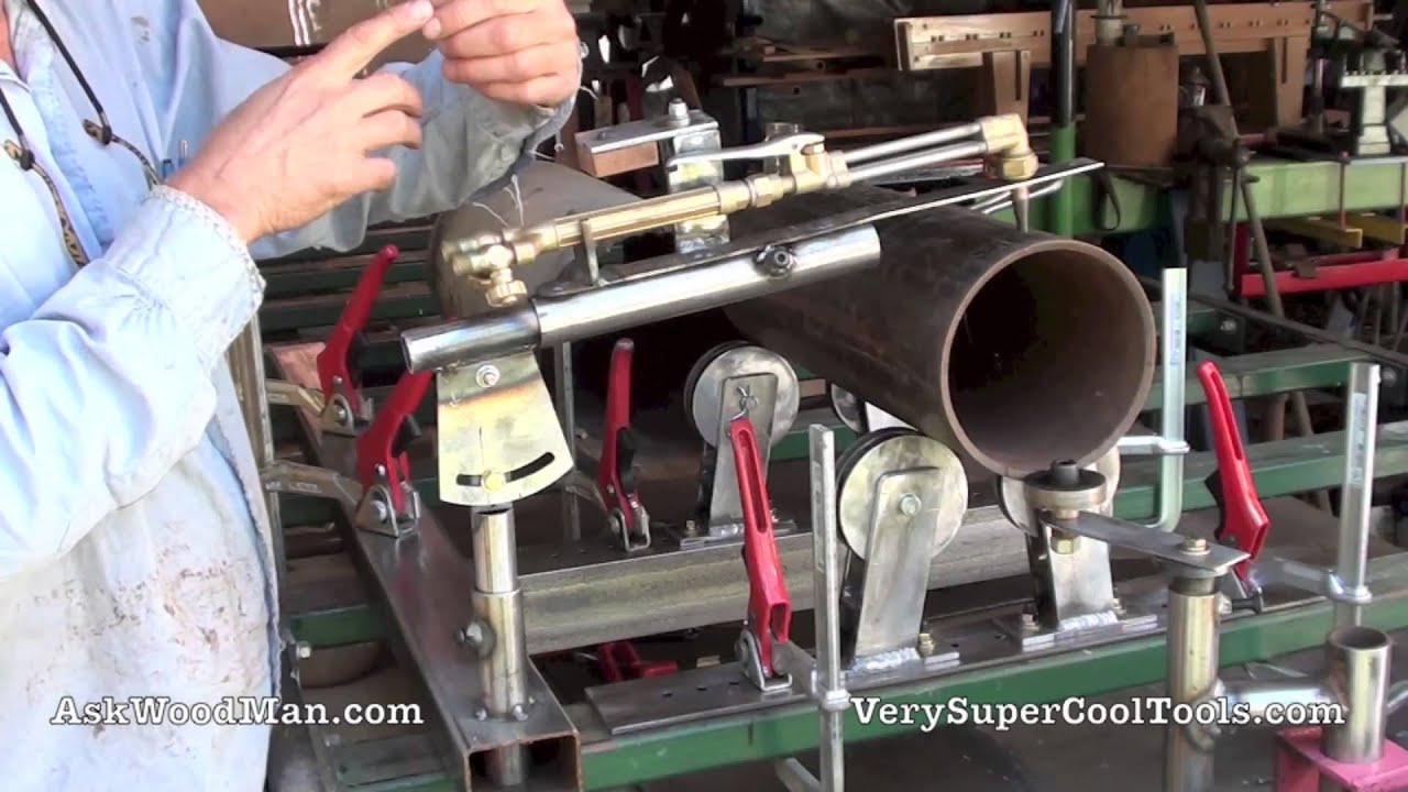 Cutting Torch 1 Of 3 Oxy Acetylene Torch Holder Pipe