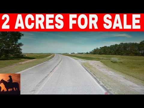 North Dakota 2 Acres For Sale Owner Financed