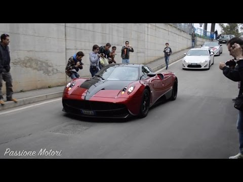 17/10/15 Cars & Coffee Monza | Tunnel Sounds!