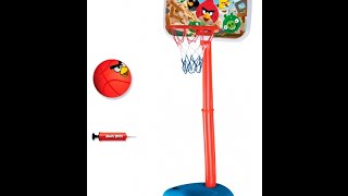 Стійка баскетбольна з кільцем ANGRY BIRDS