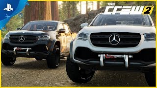 The Crew 2   Mercedes X Class  Motorsports Vehicle Series #5   PS4