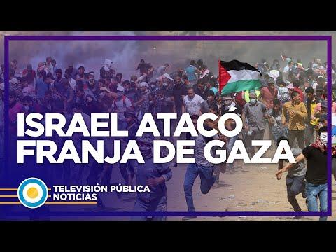 Israel Atacó Franja De Gaza
