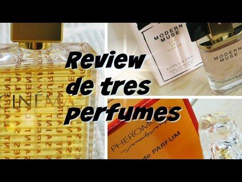 Review de tres perfumes - Cinéma, Pheromone y Modern Muse