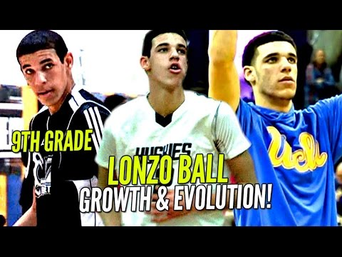 Thumbnail: Lonzo Ball's Evolution Through The Years! SKINNY 9th Grader To Potential #1 Pick in NBA Draft!
