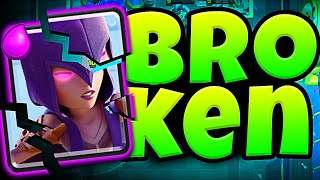 WITCH BROKEN in CLASH ROYALE