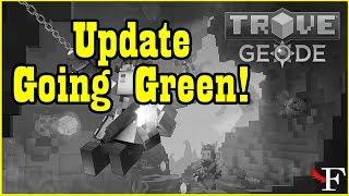 TROVE - UPDATE DE AMANHÃ(Going Green) - #762 PTBR