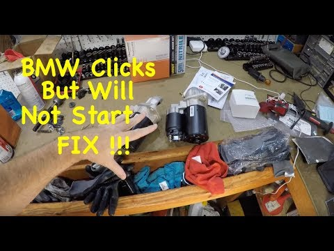 EASY !!! 2008 – 2010 BMW 5 Series  E60 Starter Replacement DIY For N52 Engines