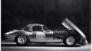 Lightweight Jaguar E-type recreation
