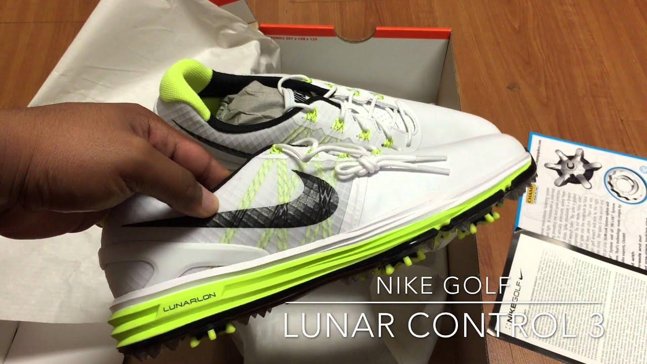 big sale c20a8 5ee32 ... Nike Golf Unboxing Lunar Control 3 - YouTube ...